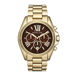 นาฬิกาข้อมือ Michael Kors รุ่น MK5502 Michael Kors Bradshaw Gold Tone Chronograph Watch MK5502 Size 43 mm