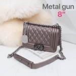 กระเป๋าสะพาย สี Gun metal