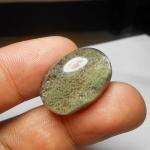 แก้วปวกเขียว น้ำใส A++ สวยงาม ขนาด2.4x 1.6cm ทำ แหวน จี้ สวยๆ