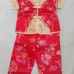set เสื้อแขนสั้น+กางเกงขายาว เด็กหญิง size : 2 ( 2y )