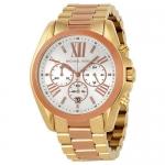 นาฬิกาข้อมือ Michael Kors รุ่น MK5651 Michael Kors Bradshaw Chronograph Two-Tone Mens Watch MK5651 Size 43 mm