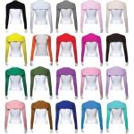 หมดปัญหาเสื้อแขนสั้น เสื้อครึ่งตัวแขนยาว 250 ทุกตัว จุใจ 19 สี ส่งฟรี