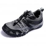 รองเท้าเดินป่าขี่จักรยาน AUUPGO รุ่น 13-03 สีเทาดำ