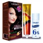 ครูเซ็ท ครีมย้อมผม รุ่น A เอ 994 สีน้ำตาลเข้ม Cruset Hair Colour Cream A Series A 994 Dark Brown 60 ml.