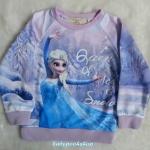 Samgami : เสื้อกันหนาวลาย เจ้าหญิง Frozen Size : 110 (2y) / 130 (4y)