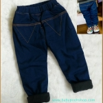 กางเกง สีกรม ผ้าหนา