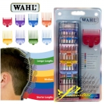 WAHL Professional 8-Pack Color Coded Cutting Guides Made In U.S.A. (ฟันรองตัดบัตตาเลี่ยน)
