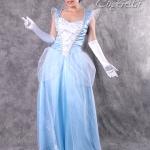 เช่าชุดแฟนซี &#x2665 ชุดแฟนซี ชุดเจ้าหญิงซินเดอเรลล่า รุ่นผ้าแก้วขาว