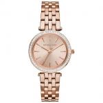 นาฬิกาข้อมือ Michael Kors MK3366 Michael Kors Mini Darci Rose Gold Tone Dial Steel Ladies Watch