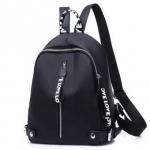 Fashion กระเป๋าเป้สะพายหลัง กระเป๋าสะพายหลังผู้หญิง backpack women เชือกดำ