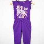 Disney : จั๊มสูทลายเจ้าหญิงโซเฟีย สีม่วง size : 6 (6-8y)