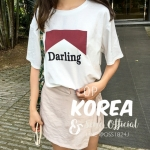 aug top no.9 เสื้อ Darling