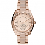 นาฬิกาข้อมือ Michael Kors MK6135 Michael Kors Bryn Rose Dial Rose Gold-tone Ladies Watch MK6135