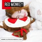พร้อมส่ง กระเป๋าน้ำร้อนไฟฟ้า ถุงน้ำร้อนไฟฟ้า ลิงจ๋อ Red Monkey ถอดซักได้
