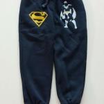 GapKids : กางเกงขาจั๊ม สกรีนลาย Superman สีกรม เนื้อผ้าหนา ด้านในเป็นผ้าสำลี