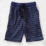 กางเกงขาสั้น สีน้ำเงิน ลายขวาง size : 4-6y / 8-10y