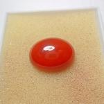 แก้ววิทูล สุริยประภา สีแดง สวย เกรด A+++ แก้วโป่งข่ามแห่งโชคลาภ ขนาด1.9x 1.5cm ทำหัวแหวน