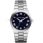 นาฬิกาข้อมือ Michael Kors MK6113 Michael Kors Channing Midnight Blue Shimmer Dial Stainless Steel