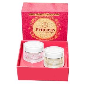 Aura Face ครีมหน้าเงา 1 กระปุก + ฺBaby Face ครีมหน้าเด็ก 1 กระปุก (ส่งฟรี EMS) ( Princess Skin Care )