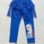 H&M : กางเกงเลกกิ้ง มีระบาย สกรีน ลาย เอลซ่า สีน้ำเงิน size 2-4y thumbnail 2