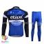 ชุดจักรยานแขนยาวทีม Quick Step 16 (01) สีน้ำเงินดำ thumbnail 1