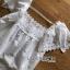 เสื้อแขนระบายผ้าลูกไม้สีขาวสไตล์วินเทจ thumbnail 19