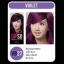 ดิ๊พโซ่ ไวเบรนซี่ แฮร์ คัลเลอร์ VB27 สีม่วงประกายแดง อาร์วี 5/6 Red Violet RV 5/6 thumbnail 1