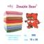 ผ้าขนหนู ตราหมีคู่ Double Bear Cotton 100% Size 15x30 thumbnail 1