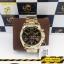 นาฬิกาข้อมือ Michael Kors MK5739 Michael Kors Bradshaw Chronograph Black Dial Gold Tone Ladies Watch MK5739 Size 43 mm thumbnail 3