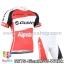 ชุดจักรยานแขนสั้นทีม Giant 15 สีขาวแดงดำ