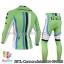 ชุดจักรยานแขนยาวทีม Cannondale 14 สีเขียวขีดขาวดำฟ้า สั่งจอง (Pre-order) thumbnail 2