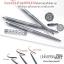 มิสทีน ยูนิเวอร์แซล อาร์ท บราว ไลเนอร์ เพ็นซิล / Mistine UniversalArt brow liner pencil 0.3 กรัม thumbnail 1