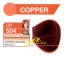 ครีมเปลี่ยนสีผม ดีแคช มาสเตอร์ แมส คัลเลอร์ครีม Dcash Master Mass Color Cream CP504 น้ำตาลทองแดงเหลือบทอง (Copper Golden Reflect) 50 ml. thumbnail 1