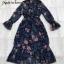 Dress แขนยาวระบายคอปิด thumbnail 7
