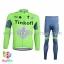 ชุดจักรยานแขนยาวทีม Tinkoff SAXO 16 (01) สีเขียวเทา thumbnail 1