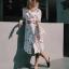 Dress แขนสั้น เนื้อผ้าพิมท์ลายสุดน่ารัก thumbnail 1