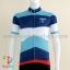 เสื้อจักรยานแขนสั้นทีม MAAP 16 (13) สีฟ้าน้ำเงินขาวแดง