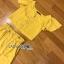 เซ็ตเสื้อคร็อปสั้นและกระโปรงสีเหลืองมัสตาร์ด thumbnail 19