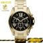 นาฬิกาข้อมือ Michael Kors MK5739 Michael Kors Bradshaw Chronograph Black Dial Gold Tone Ladies Watch MK5739 Size 43 mm thumbnail 2