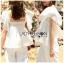 เสื้อแขนระบายผ้าลูกไม้สีขาวสไตล์วินเทจ thumbnail 5