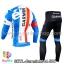 ชุดจักรยานแขนยาวทีม Garmin 14 สีน้ำเงินขาว สั่งจอง (Pre-order) thumbnail 2