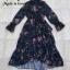 Dress แขนยาวระบายคอปิด thumbnail 9