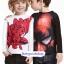 H&M : เสื้อแขนยาว สกรีนลาย Spiderman สีดำ size : 1-2y / 10-12y thumbnail 4