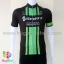 เสื้อจักรยานแขนสั้นทีม Scott 16 (01) สีเขียวดำ