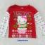 Hello Kitty : เสื้อยืดแขนยาวสีแดง ลาย คริสมาสต์ Hello Kitty สีแดง size 4T (3y) thumbnail 1