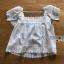 เสื้อแขนระบายผ้าลูกไม้สีขาวสไตล์วินเทจ thumbnail 20