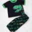 Carter's : ชุดเสื้อ สกรีนลายไดโนเสาร์ สีดำ + กางเกงพิมพ์ลายไดโนเสาร์ size 12m thumbnail 3