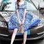 Mini dress งานแบรนด์ DG ทรงสวย thumbnail 3