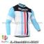 เสื้อจักรยานแขนยาวทีม Bianchi 14 สีเขียวดำขาว thumbnail 1