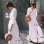 Maxi Dress สีขาว thumbnail 7